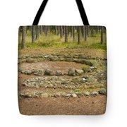 Stone Circle Tote Bag