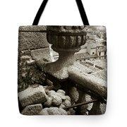Stone Embellishments Of Jesuits Church Tote Bag