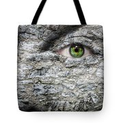 Stone Face Tote Bag