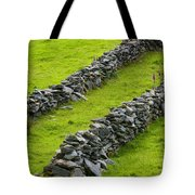 Stone Fences In Ireland Tote Bag
