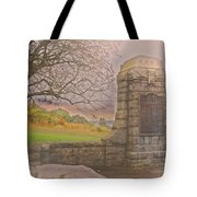 Stone Gate Tote Bag by Tom Gari Gallery-Three-Photography