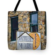 Stone House Pizza Tote Bag