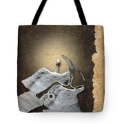 Stone Men 29 - Love Rythm Tote Bag by Variance Collections