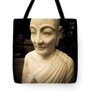 Stone Monk Tote Bag