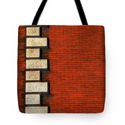 Stone On Brick Tote Bag
