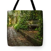Stone Path Through A Forest Tote Bag by Jess Kraft