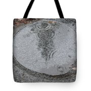 Stone Pool Angel Tote Bag