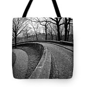 Stone Road And Path Tote Bag