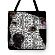 Stone Rock'd Dog By Sharon Cummings Tote Bag by Sharon Cummings