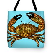 Stone Rock'd Stone Crab By Sharon Cummings Tote Bag