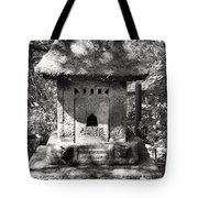 Stone Shrine Tote Bag