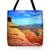 Stone - Sky - Colour Tote Bag