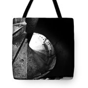 Stone Spiral Staircase Tote Bag