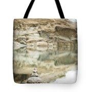 Stone Stack Pool Tote Bag