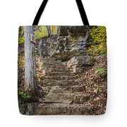 Stone Steps Tote Bag