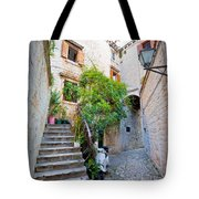 Stone Streets Of Old Trogir Tote Bag