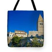 Stone Town Of Lubenice In Croatia Tote Bag