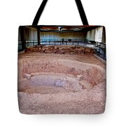 Stone Village-850 Ad In A Protective Shelter On The Mesa Top In Mesa Verde National Park-colorado Tote Bag