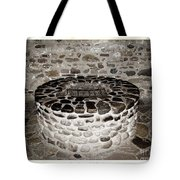 Stone Well At Old Fort Niagara Tote Bag