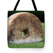 Stone Wheel Tote Bag