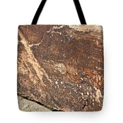 Stone Written Tote Bag