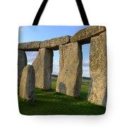 Stonehenge And Shadows Tote Bag