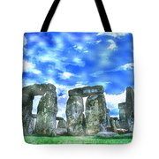 Stonehenge In The English County Of Wiltshire  Tote Bag