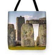 Stonehenge Panorama Tote Bag