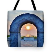 Sunrise Through The Arch - Rehoboth Beach Delaware Tote Bag