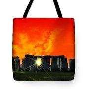 Stonehenge Solstice Tote Bag