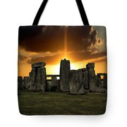Stonehenge Wiltshire Uk Tote Bag