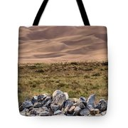 Stones And Sand Tote Bag
