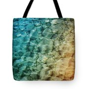 Stones In The Sea Tote Bag