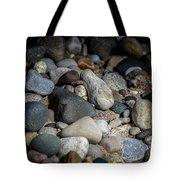 Stones On Beach Tote Bag