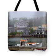 Stonington Harbor 2 Tote Bag