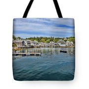 Stonington In Maine Tote Bag