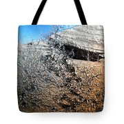 Stony Bush Abstract Tote Bag