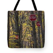 Stop A Subtle Suggestion To Keep Out Tote Bag