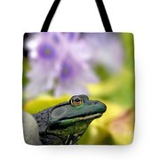 Stop And Smell The Hyacinths Tote Bag