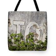 Stop Sign Tote Bag by David Gordon