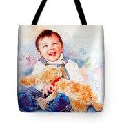 Stop Tickling Tote Bag