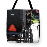 Stopped Buggy Tote Bag