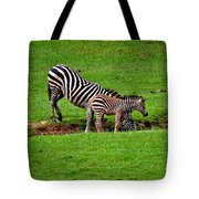 Stopping For A Drink Tote Bag