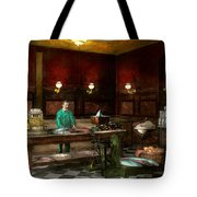 Store - Fish - C Lindenberg Hollieferont Fish Store Berlin Germany 1895 Tote Bag