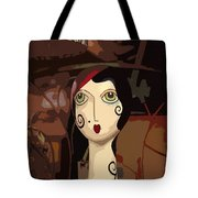 Store Mannequin Tote Bag