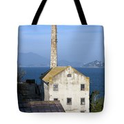 Storehouse Alcatraz Island San Francisco Tote Bag