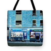 Stores On Ossington In Blue Tote Bag