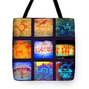 Stories On Stone Tote Bag