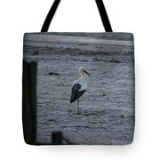 Stork On A Frosty Morning Tote Bag
