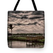 Storm A-coming Tote Bag